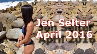 Repeat youtube video Jen Selter in April 2016 Videos  [] jen selter workout [] !