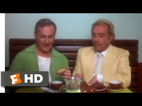 La Cage aux Folles (1979) - Buttering Toast Like a Man Scene (4/10) | Movieclips