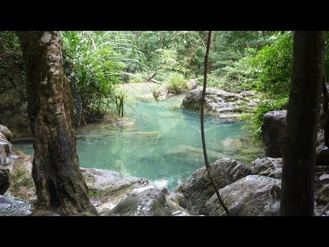 Erawan Waterfall National Park Thailand HD