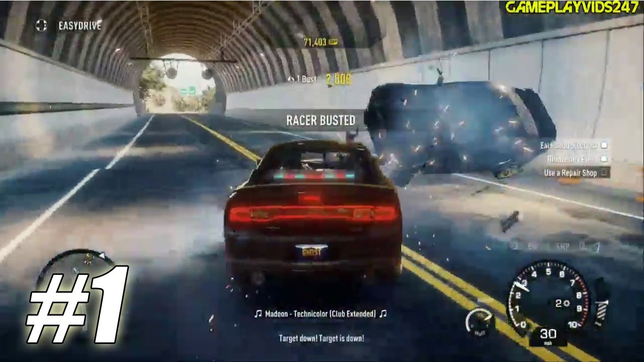 Need For Speed Rivals Undercover Police Walkthrough Part 1