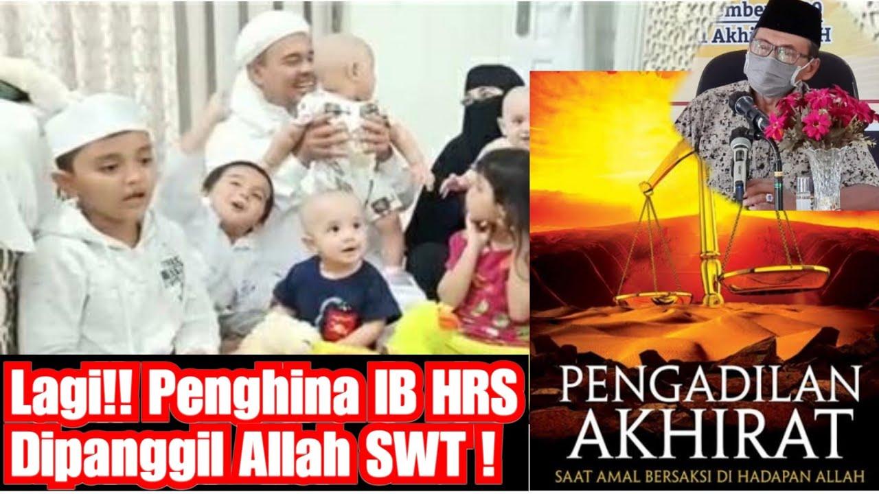 🔴 SATU LAGI!! Penghina Habib Rizieq Dikabarkan Mati! - Selamat Datang Di Pengadilan akhirat