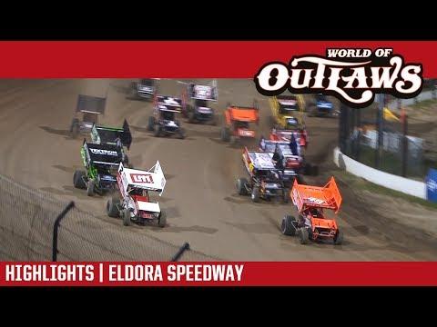 World of Outlaws Craftsman Sprint Cars Eldora Speedway September 22, 2017 | HIGHLIGHTS