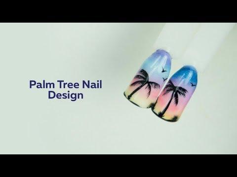 Palm Tree Nail Art Tutorial thumbnail