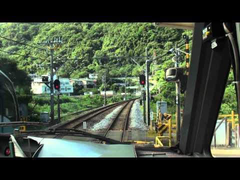 伊豆急 前面展望 夏色キセキver. Cab view IZUKYU line feat. Animation 'natsuiro kiseki'