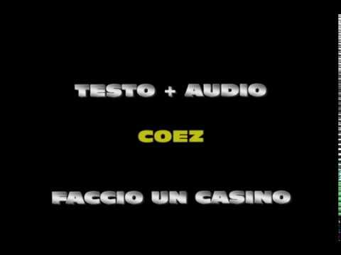 faccio un casino lyrics