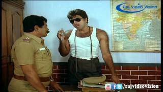 Velai Kidaichiduchu  | Satyaraj Arresting Anandraj Super Scene