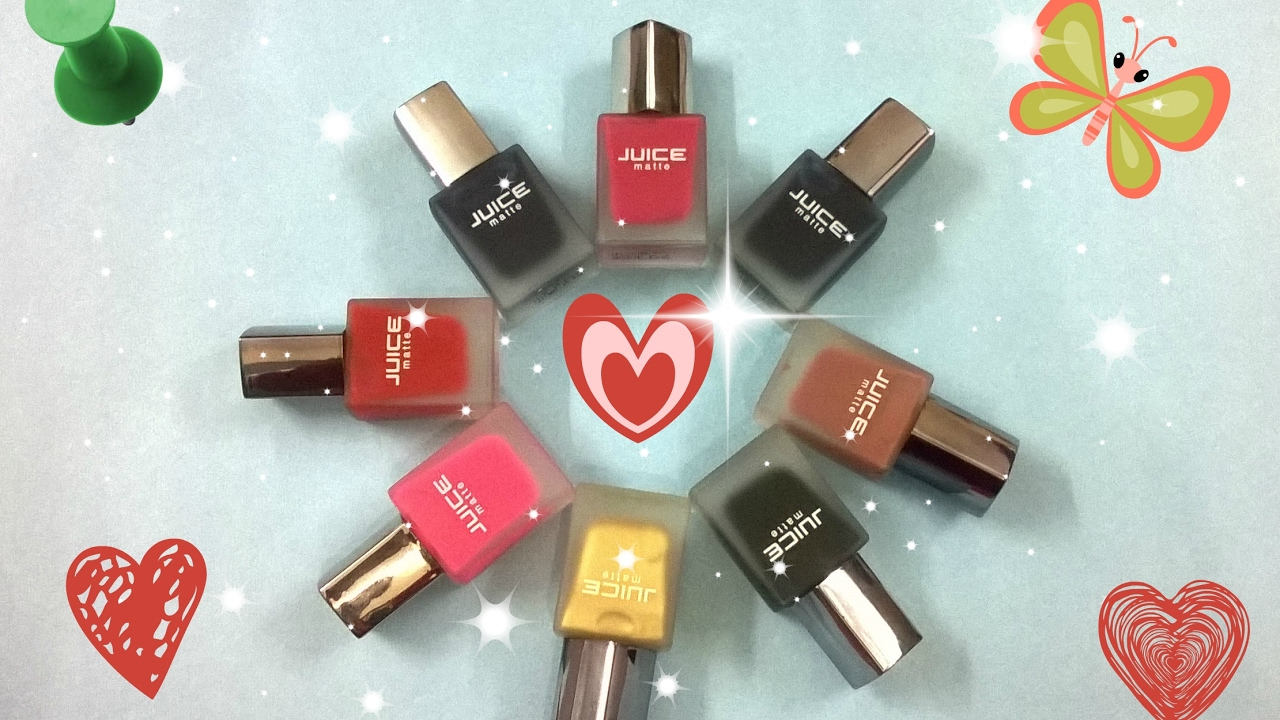 Juice matte nail polish | Cheapest matte nail polish | Juice matte ...