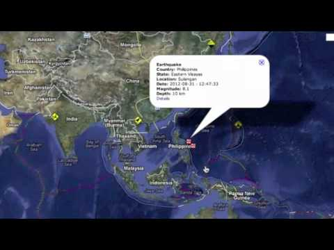 8.1 Earthquake Philippines - Aug 31, 2012