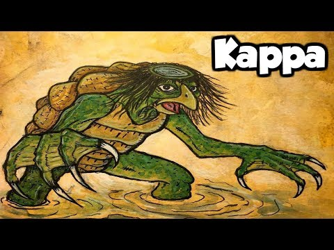 Kappa The Japanese River Monster - (Japanese Folklore Explained)
