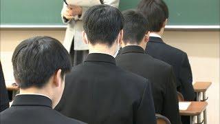 受験シーズンが本格化です。岡山県の公立高校で特別入試が始まりました。