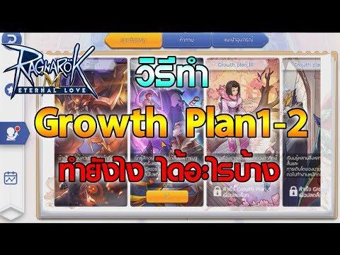 Ragnarok M Eternal Love   วิธีทำ Growth Plan1-2