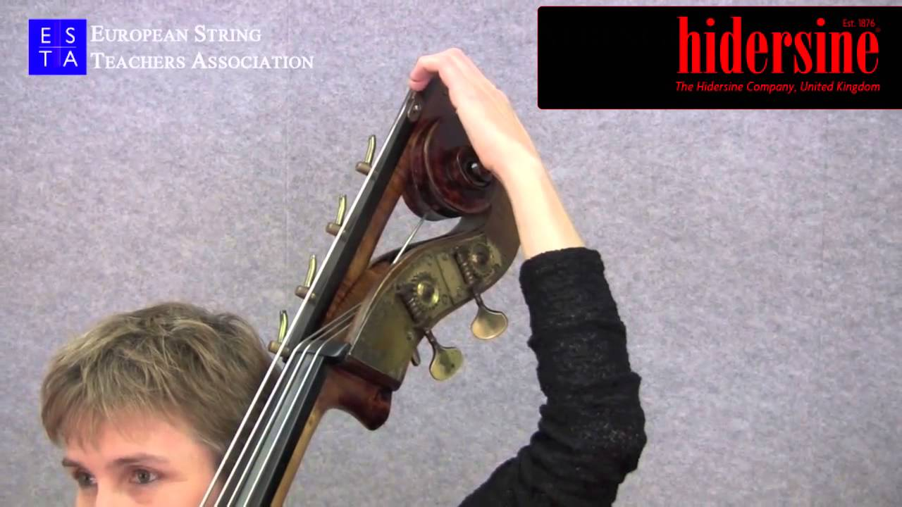 Double Bass Technique - String Extension Tunings