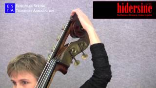 double bass technique string extension tunings
