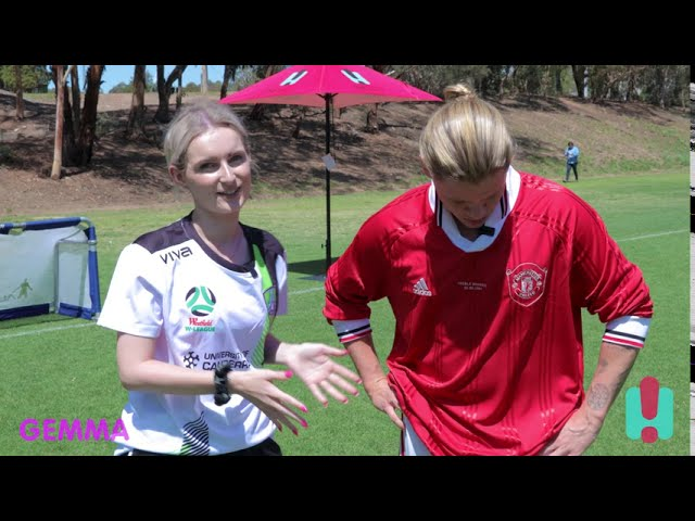 Soccer with Conrad Sewell | Gemma
