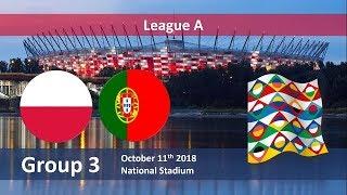 POLSKA - PORTUGALIA! (BEZ WIDOKU MECZU) LIGA NARODÓW UEFA NA ŻYWO! #OBSTAWIAMYINFO