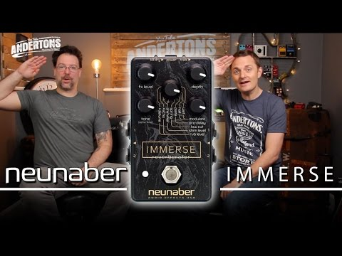 Neunaber Immerse Pedal - Epic Ambient Tones!!