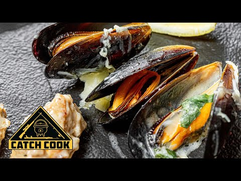 The ultimate easy, creamy mussel recipe - Catch Cook, KZN, South Africa