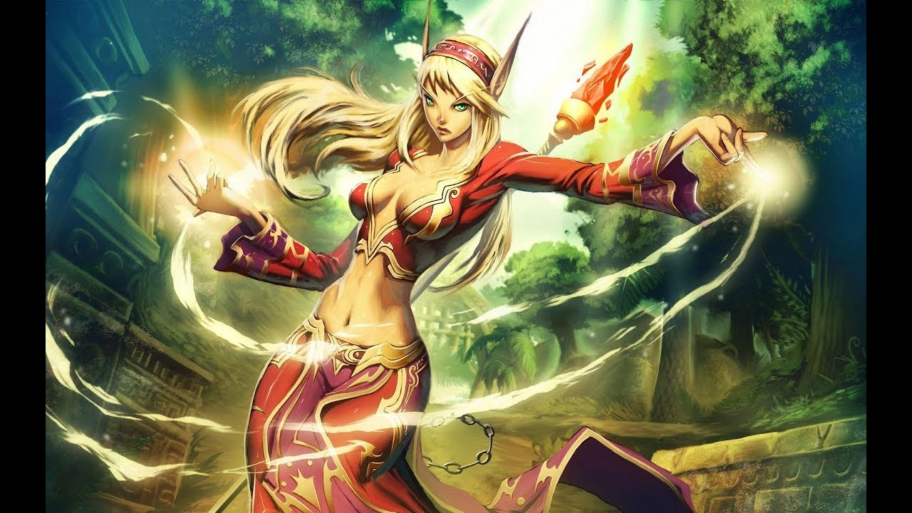 Download Blood Elf Music - WoW (Compilation)