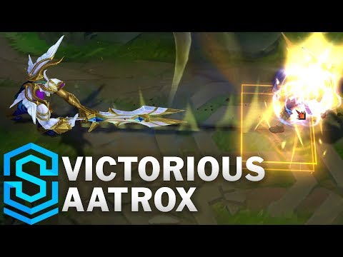 Victorious Aatrox Skin Spotlight - Pre-Release - League of Legends