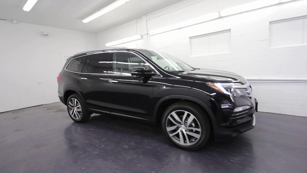 2016 Honda Pilot Touring Crystal Black Gb088874 Seattle On