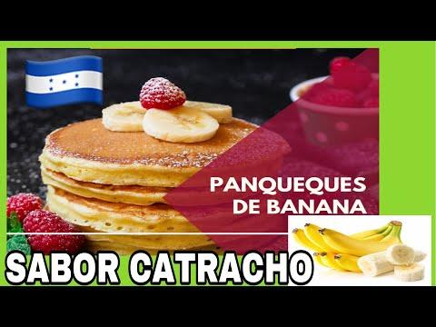 PANQUEQUES—CON BANANA 🍌 🥞 A MI ESTILO CATRACHO🇭🇳/PASO A PASO/PREPARACIÓN/JENNY CLAROS/PATEPLUMA