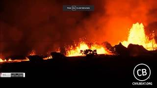 GSM Update 5/20/18 - Kilauea Continues Erupting - Clearing Snow In Mid-May - Cosmic Ray Connection