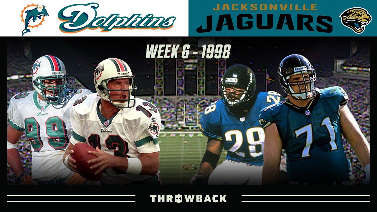 """The Gator Bowl"" (Dolphins vs. Jaguars 1998, Week 6)"