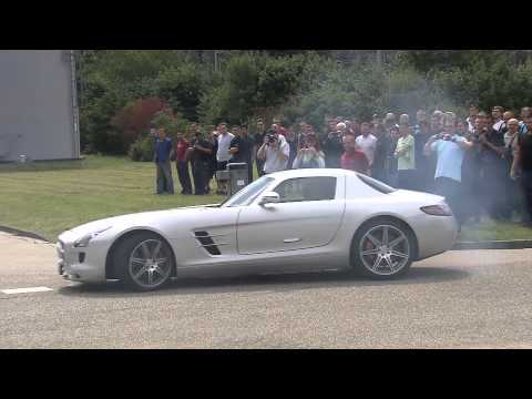 F1 2012 - Mercedes AMG at Rastatt - Michael Schumacher & Nico Rosberg - Footage