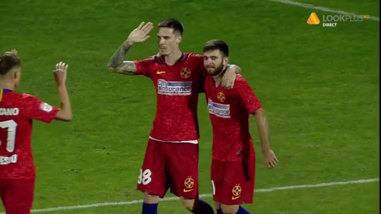 FCSB - FC ARGEȘ  3-0, Denis Man (72) Etapa 4 Liga 1 2020-2021