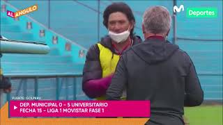 Liga 1 Movistar: Universitario GOLEÓ 5-0 a Municipal | AL ÁNGULO *RESUMEN*