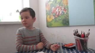 Занятие по развитию речи. Мальчик-аутист 6,5 лет.