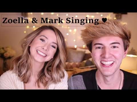 Zoella & Mark Singing Compilation