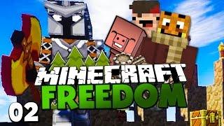 KAMPF GEGEN OBERMISSET MANGO & REWI TÖTET EDGAR?! ✪ Minecraft FREEDOM #02