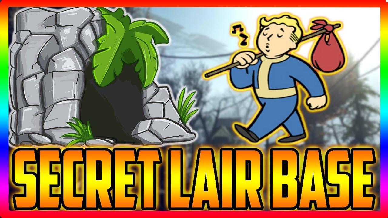 Fallout 76 Secret Underground Hidden Lair Base Glitch