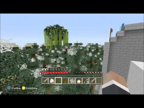 Minecraft Xbox- Bone Yard Hunger Games- Halloween Special
