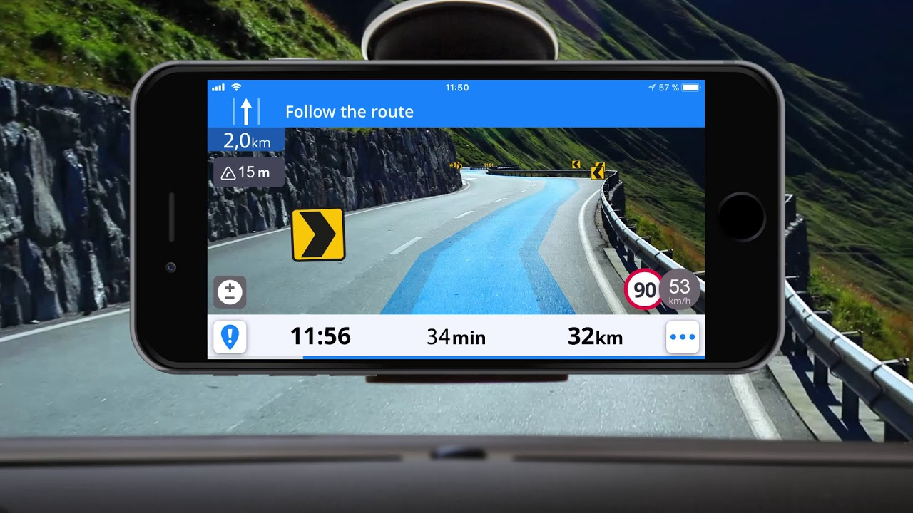 Real View Navigation in Sygic GPS Navigation