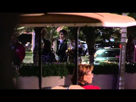 Brenda Strong and Zakery Henri depart the 2012 Primetime ...