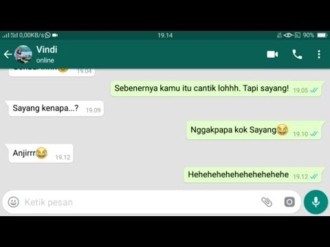Chat WA Gombal Romantis Auto Bikin Baper Part 2