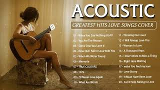 Download Best English Acoustic Love Songs 2020 -  Greatest Hits Acoustic Cover Of Popular Songs Of All Time