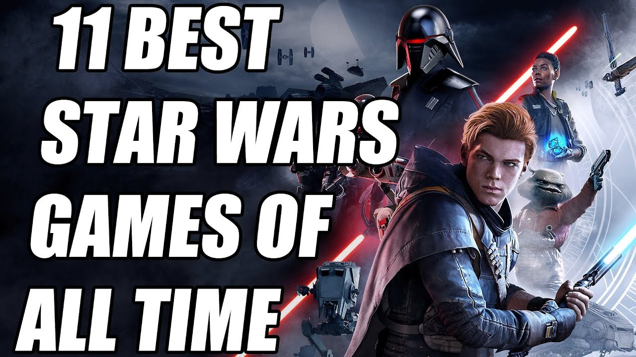 11 BEST Star Wars Games of All Time