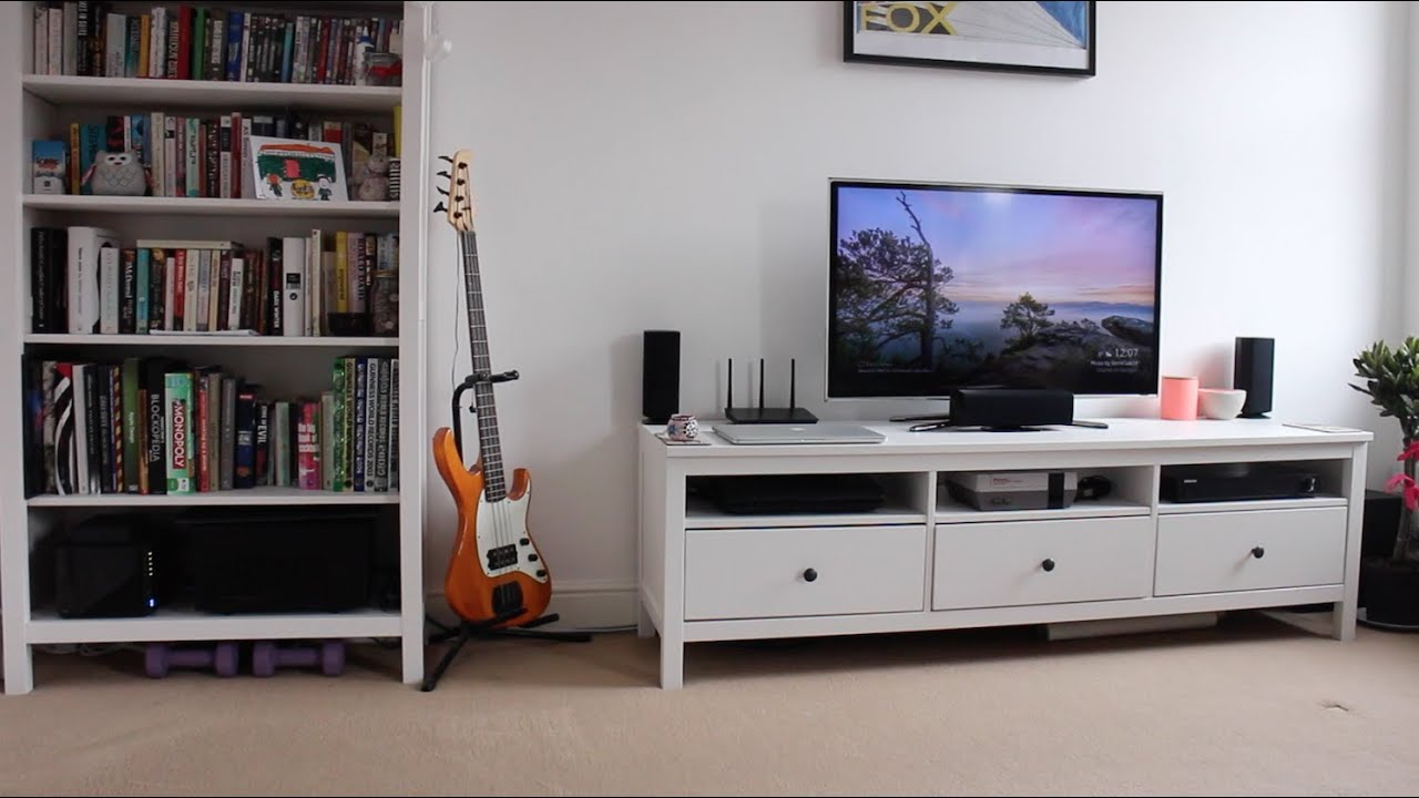 Living Room Set Up living room entertainment: setup tour - youtube