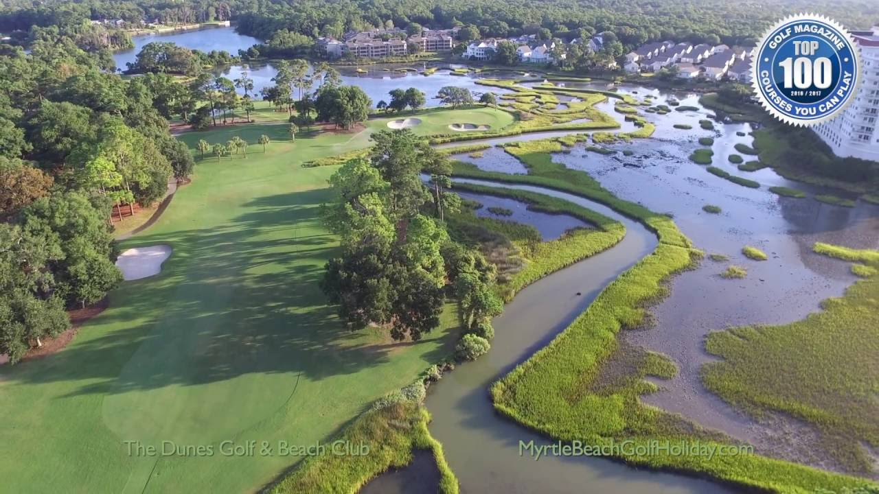 The Dunes Golf Beach Club 11 Par 4 Myrtle Holiday Member