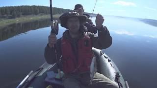 Рыбалка 2019, хариус на Ангаре