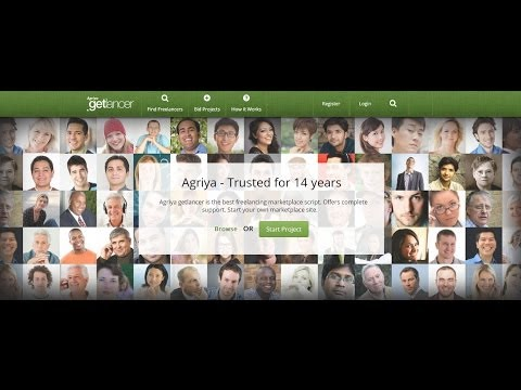 Agriya's beneficial Freelancer Clone script - Getlancer 2.0