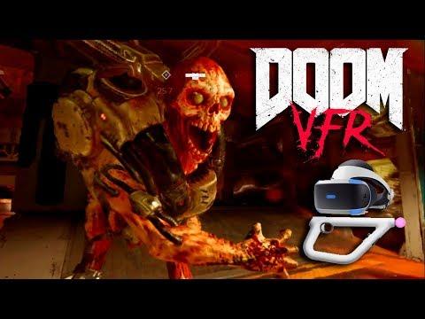 DOOM VFR Demonios y sangre en realidad virtual VR_JUEGOS