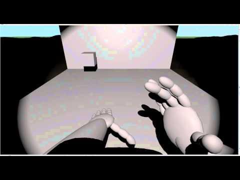 Home made Virtual Reality data glove