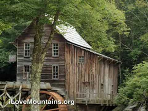 Gauley Mountain, WV:  the town of Ansted
