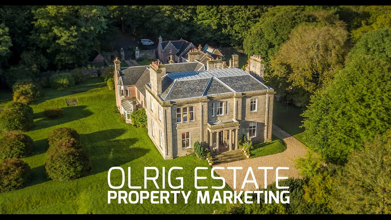 Olrig Estate Luxury Scottish Country House Youtube