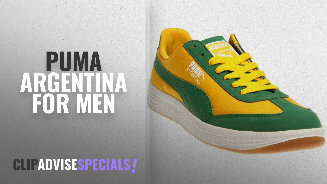25191874a1b Top 10 Puma Argentina  2018    PUMA Mens Argentina Spectra  Yellow Amazon White 12