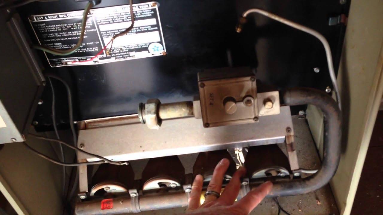 gas valve installation upgrade to robertshaw intermittent spark ignition  [ 1280 x 720 Pixel ]